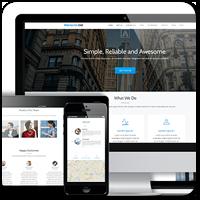 Parallax One — совершенно бесплатная одностраничная тема WordPress от Themeisle