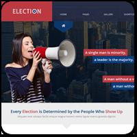 20 премиум тем WordPress для политических сайтов или сайтов кандидатов