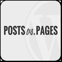 Какая разница между Записями и Страницами в WordPress?