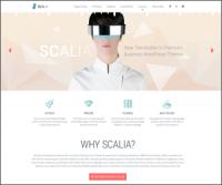 Scalia — новейшая мультизадачная премиум тема WordPress с 5 вариантами дизайна