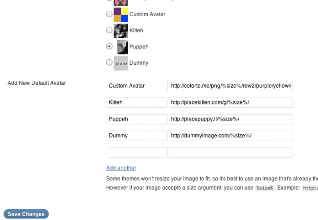 Как изменить стандартный аватар по умолчанию в WordPress