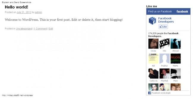 screenshot 2 650x333 Полное руководство по использованию Facebook для WordPress