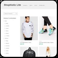 Shophistic — бесплатная тема WordPress с Grid-разметкой для магазина на WooCommerce