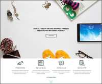 Shore — многоцелевая тема на WordPress для творческих задач