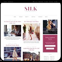 Silk Lite — новая бесплатная WordPress тема для Fashion блогеров