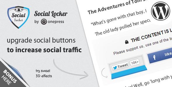 sociallocker wp inline Полное руководство по использованию Facebook для WordPress