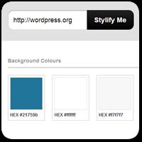 Stylify Me — смотрим, какие цвета, шрифты и стили оформления используются на сайте