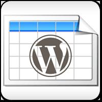 Работаем с таблицами в WordPress с помощью плагина TablePress