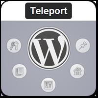 Teleport — навигация в WordPress с помощью клавиатуры