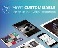 The7 — одна из самых настраиваемых многоцелевых тем WordPress на Themeforest