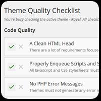 Новый плагин Theme Checklist для подготовки тем к добавлению в каталог WordPress.org