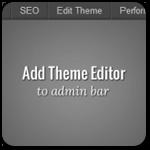Как добавить кнопку на админ панель для быстрой правки кода WordPress темы