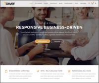 Tower — многоцелевая премиум бизнес тема для WordPress