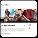 Как настроить стандартную тему Twenty Eleven на WordPress [видео]
