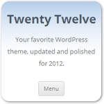 Twenty Twelve — новая стандартная тема WordPress