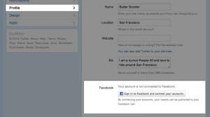 twitter-facebook-integration