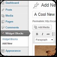 Создаем виджеты в WordPress с помощью визуального редактора