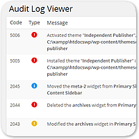 WP Security Audit Log — следите за всеми изменениями на вашем сайте WordPress