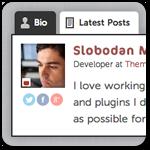 Как добавить больше данных в блок об авторе с помощью бесплатного плагина