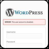 Как забанить пользователя WordPress