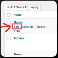 Как добавить и отобразить описание для Рубрик на сайте WordPress