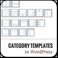 Разная структура темы оформления для разных Рубрик в WordPress