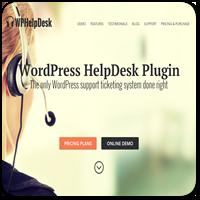 WPHelpDesk — премиум плагин для службы поддержки и тикет-системы на WordPress