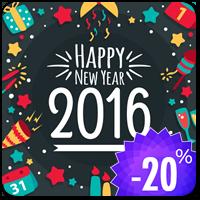 Новогодние скидки на все тарифы лучшего WordPress хостинга от Hostenko.com