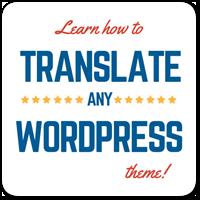 Как перевести тему для WordPress на другой язык