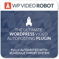 WP Video Robot — мощный плагин для автоматизации вставки видео с YouTube на WordPress