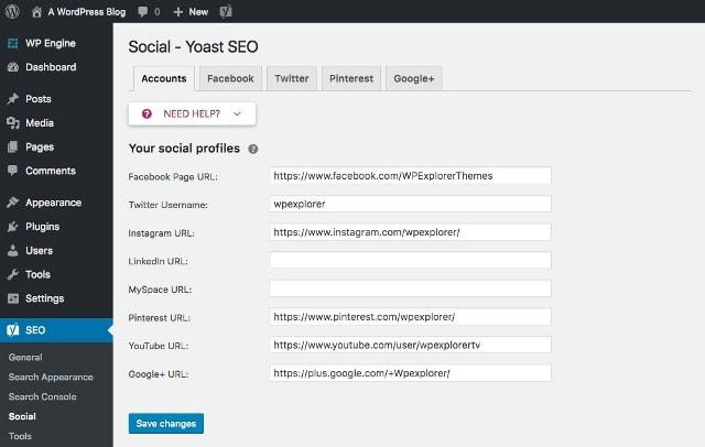 Как настроить Open Graph и Twitter-карты для WordPress