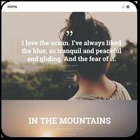 Yuuta — новая бесплатная WordPress тема для ведения личного дневника
